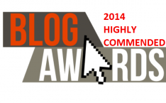 UK Blog Awards 2014 Highly Commended (2)