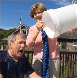 George W. Bush's Ice Bucket Challenge