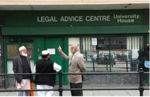 The LAC in Bethnal Green where Baker & McKezie lawyers help out with pro-bono support